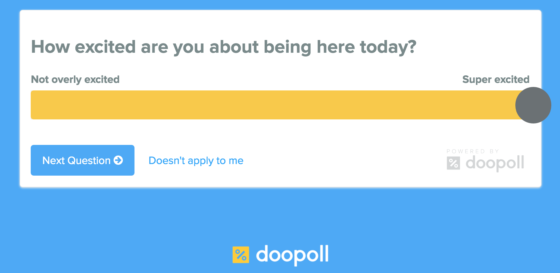 doopoll – polling with a simple UI
