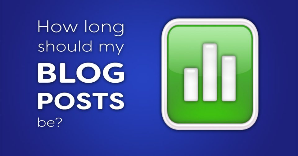 How long should my blog posts be?