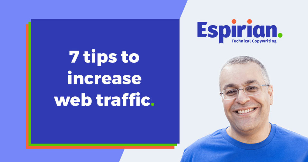 7 ways to increase web traffic
