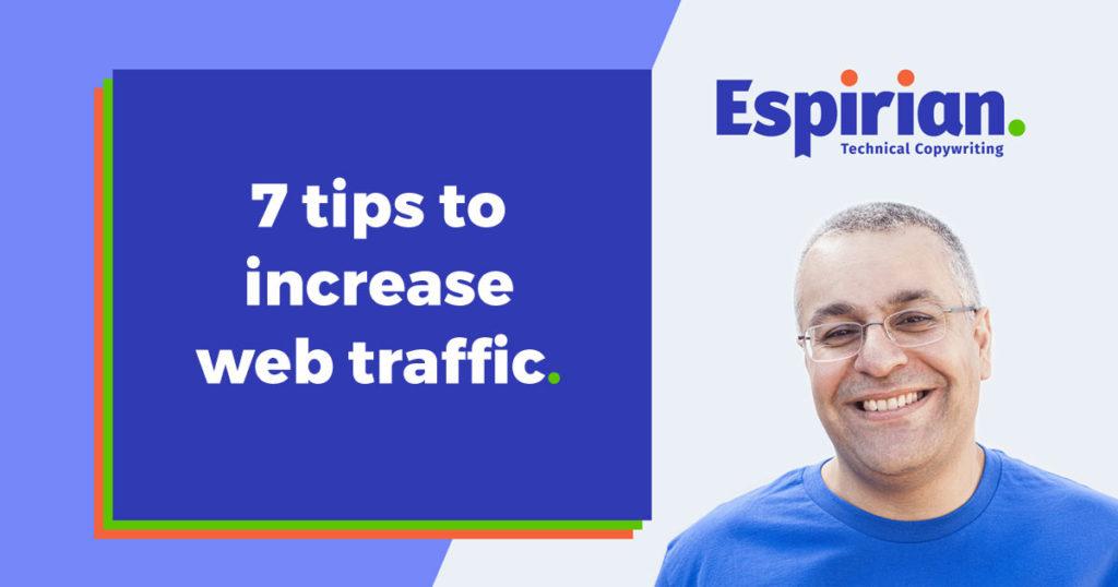 7 ways to increase web traffic