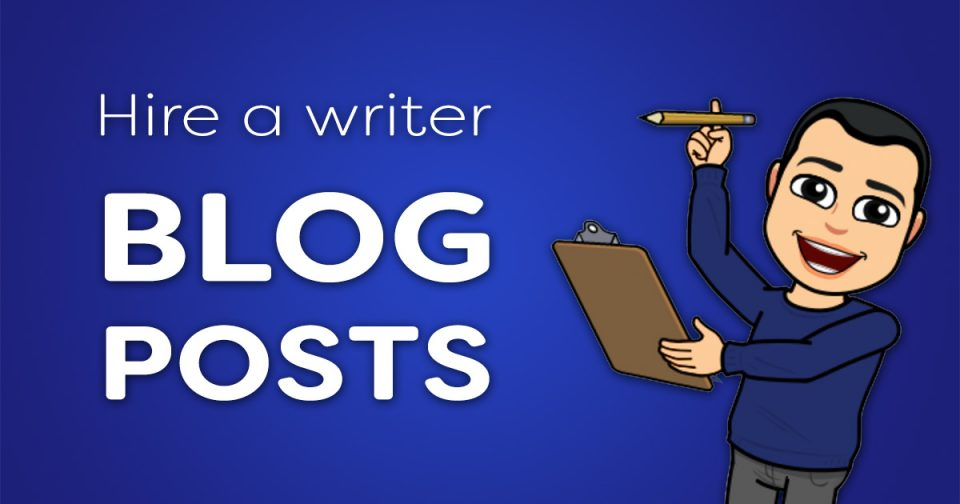 Hire blog writer