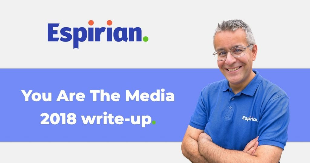 You Are The Media 2018 write-up