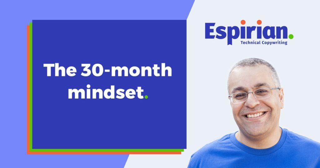 The 30-month mindset