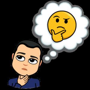 BitmoJohn emoji think