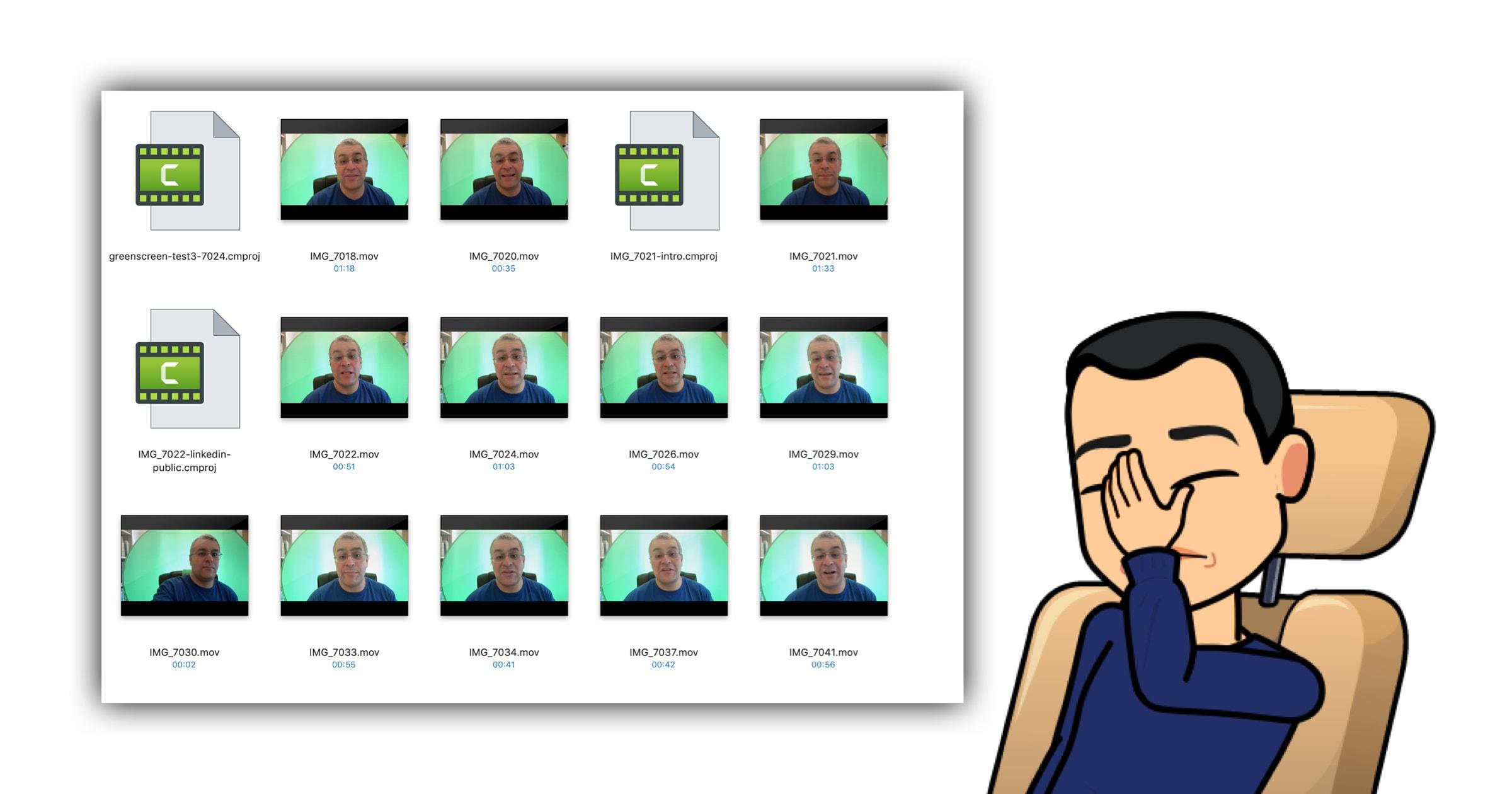 Green screen failures