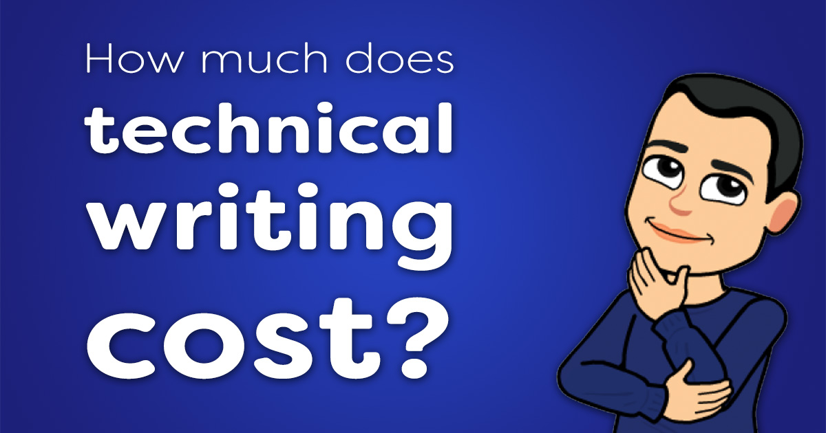 How much does technical writing cost?