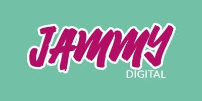 Jammy Digital website design