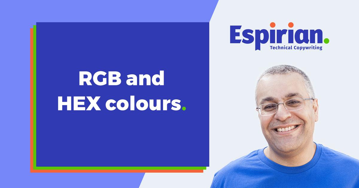 RGB & HEX colours