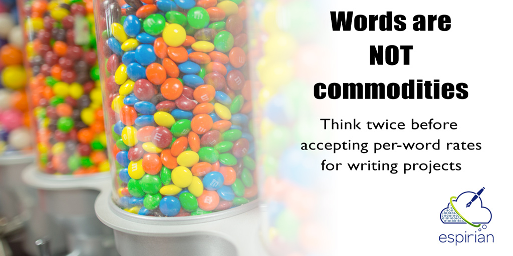 Words are not commodities