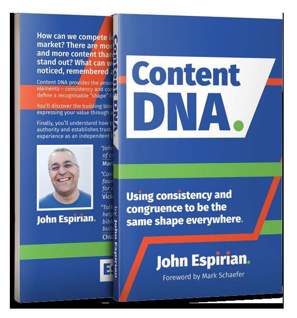 Content DNA Book John Espirian