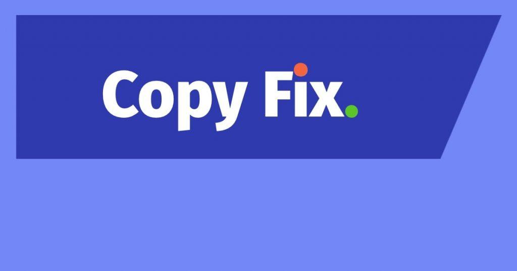 Copy Fix