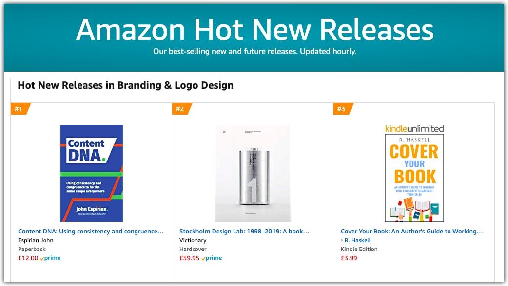 Amazon hot new releases