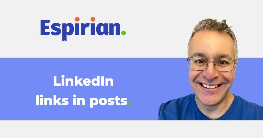 LinkedIn links in posts