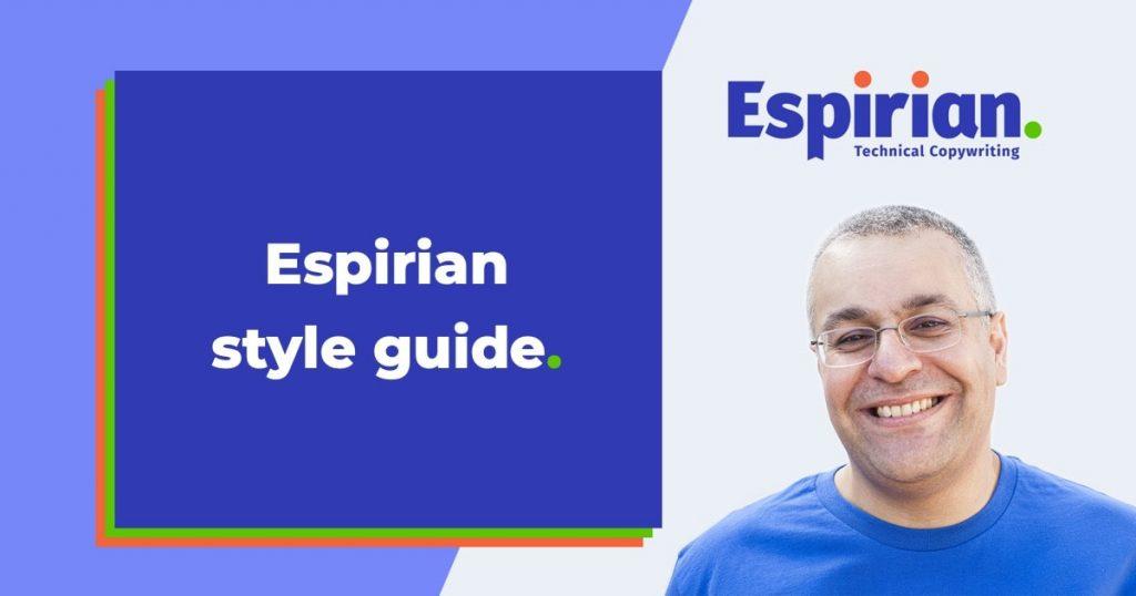 Espirian style guide