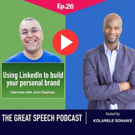 The Great Speech Podcast by Kolarele Sonaike