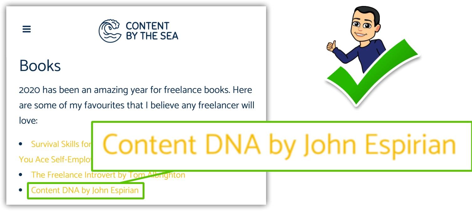 Link to ContentDNA by Ellen Forster