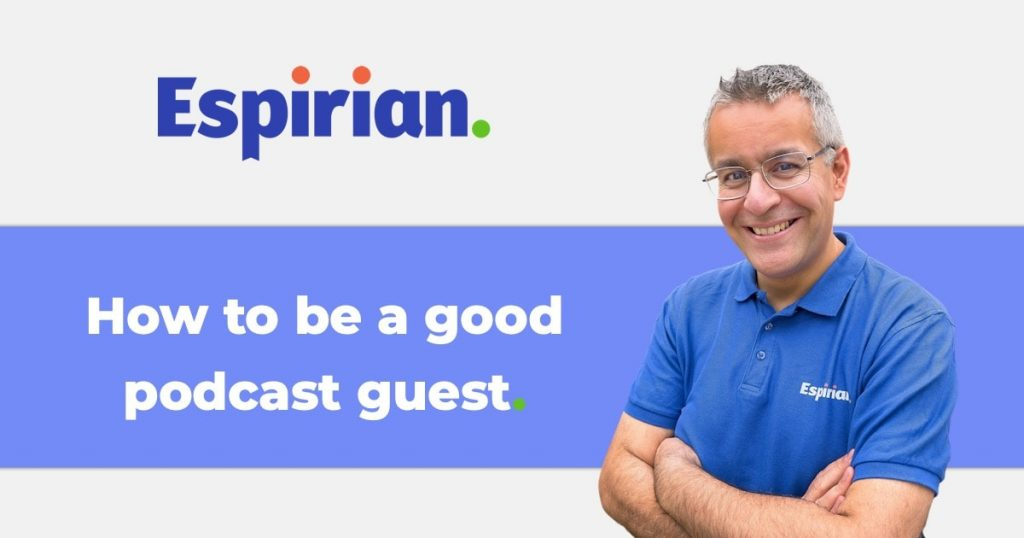 How to be a good podcast guest