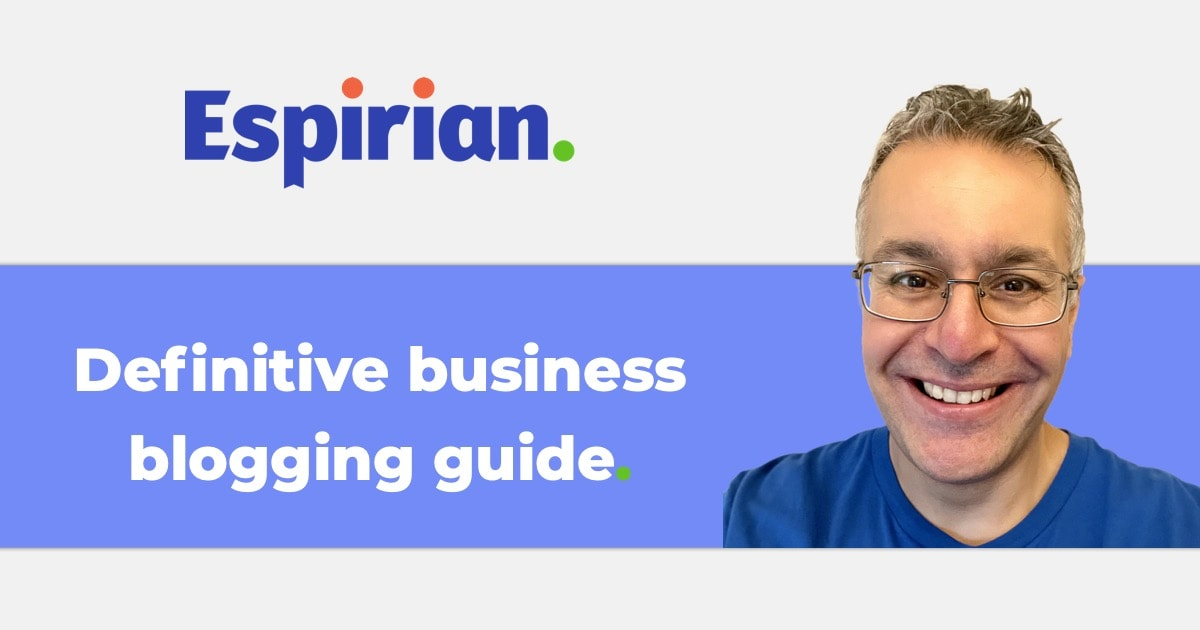Definitive business blogging guide