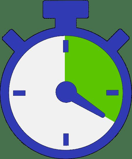 Clock 20 minutes