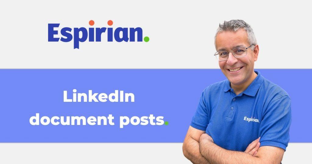 LinkedIn document posts