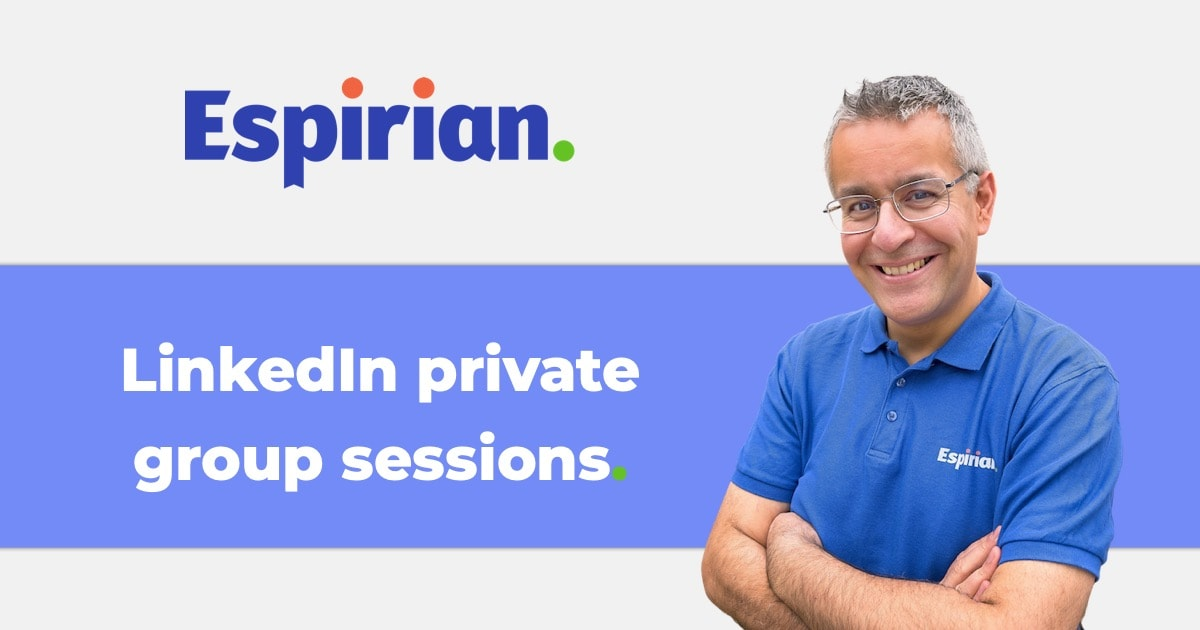 LinkedIn private group sessions