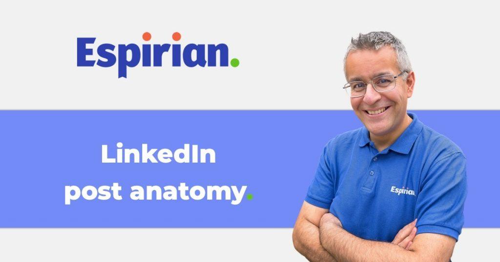 LinkedIn post anatomy