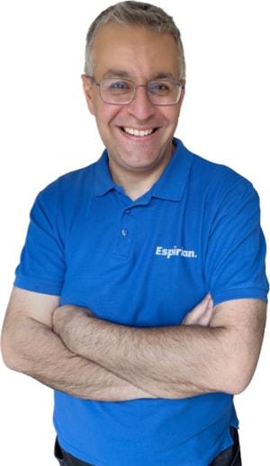 John Espirian folded arms