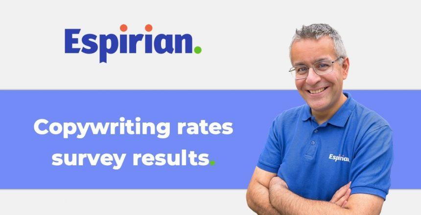 Copywriting rates survey results
