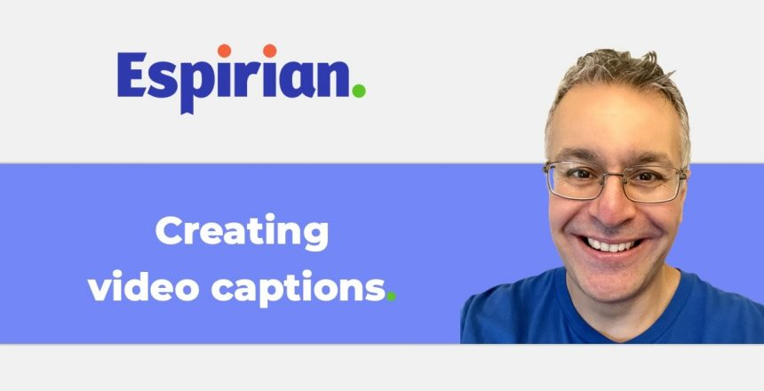How to create video captions