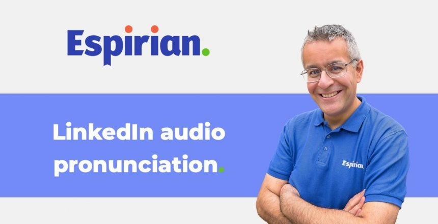 LinkedIn audio pronunciation
