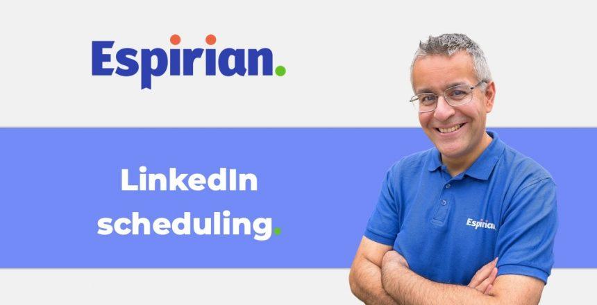 LinkedIn post scheduling