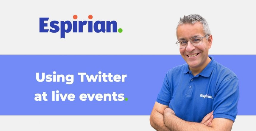 Using Twitter at live events