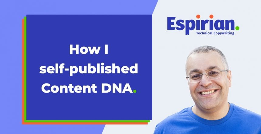 How I self-published Content DNA