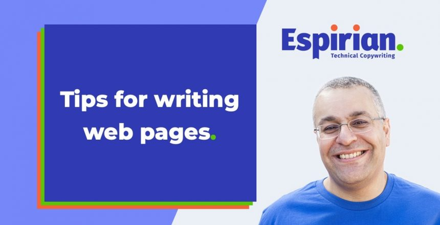 Web page writing tips